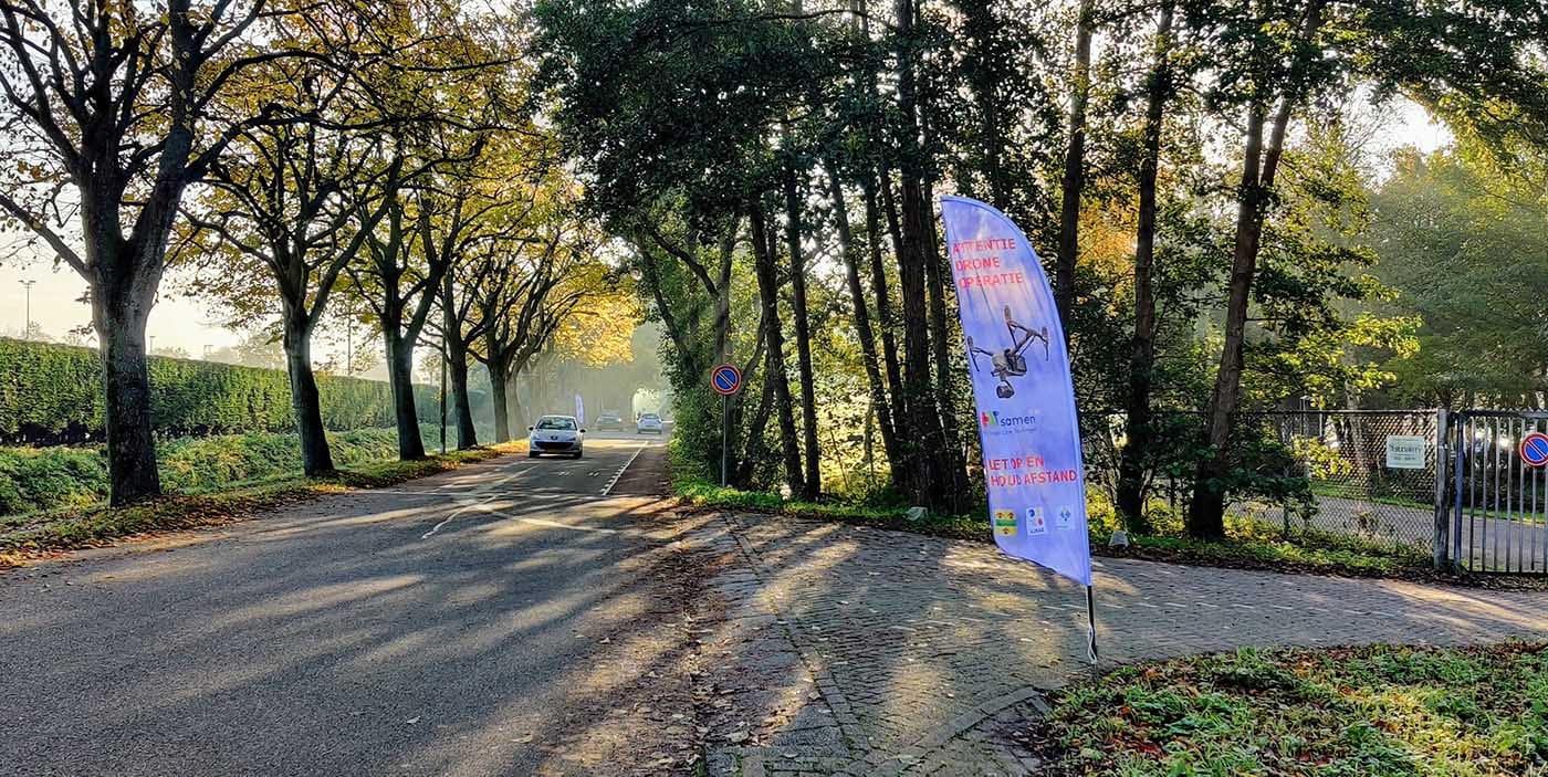 Gemeenten Hillegom, Lisse en Teylingen zetten drone in voor geo-informatie en veiligheid